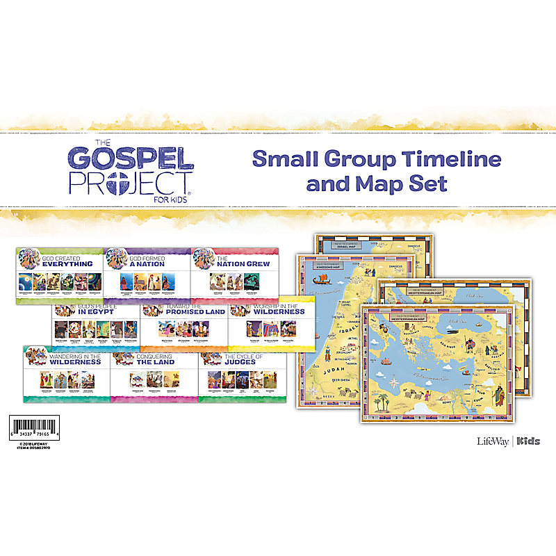 The Gospel Project For Kids Small Group Timeline And Map Set