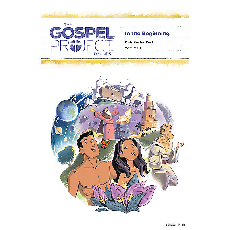The Gospel Project for Kids: Kids Poster Pack - Volume 1: In the Beginning