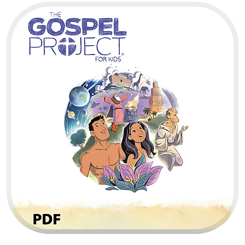The Gospel Project for Kids: Younger Kids Leader Guide PDF - Volume 1: In the Beginning