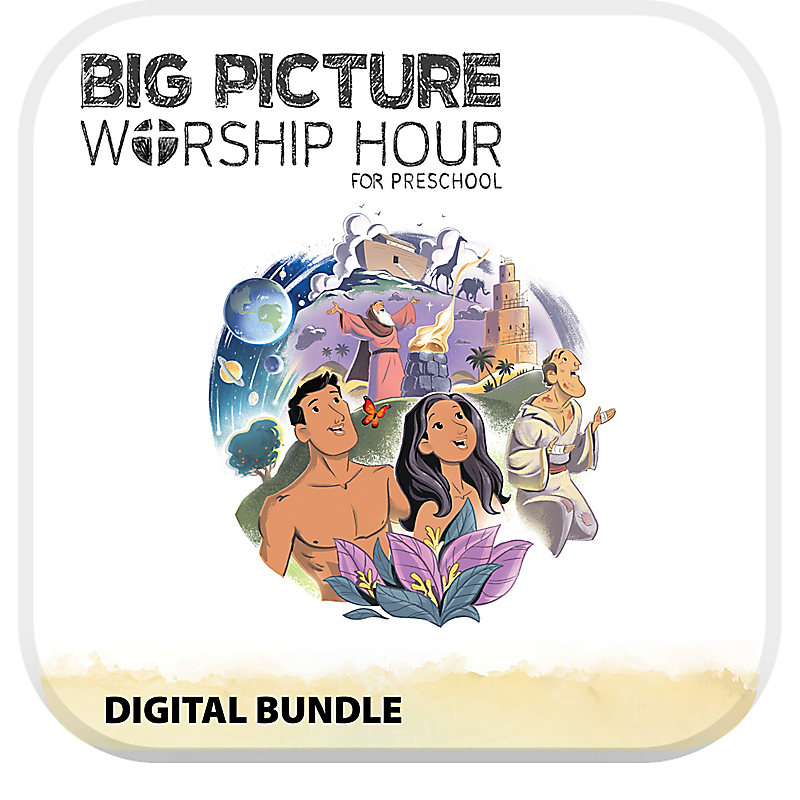 The Big Picture Worship Hour for Preschool - Volume 1: In the Beginning