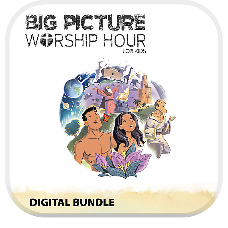 The Big Picture Worship Hour for Kids - Volume 1: In the Beginning