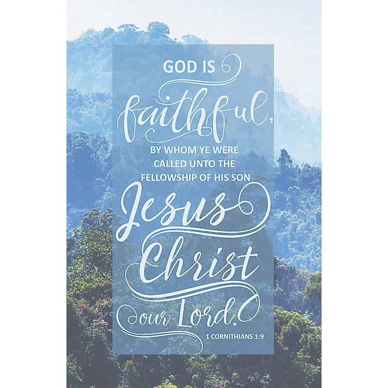 God Is Faithful - Bulletin (Pkg 100) General Worship