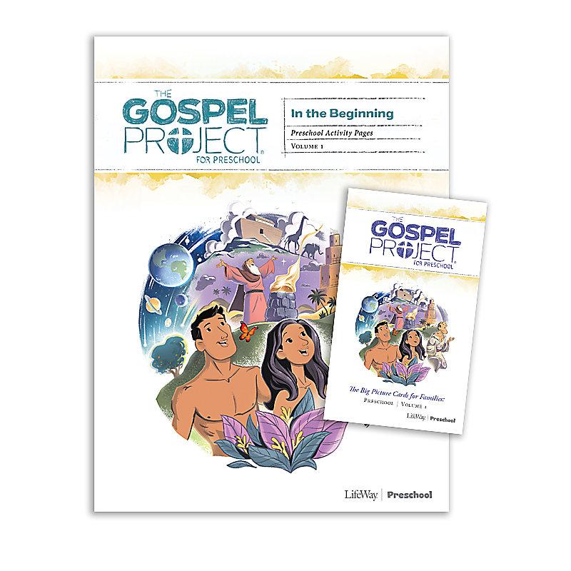 The Gospel Project for Preschool: Preschool Activity Pack - Volume 1 In the Beginning