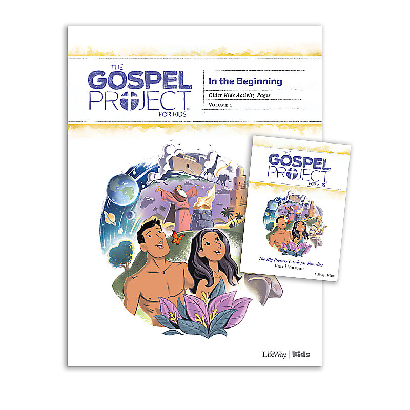 The Gospel Project for Kids: Older Kids Activity Pack - Volume 1: In the Beginning
