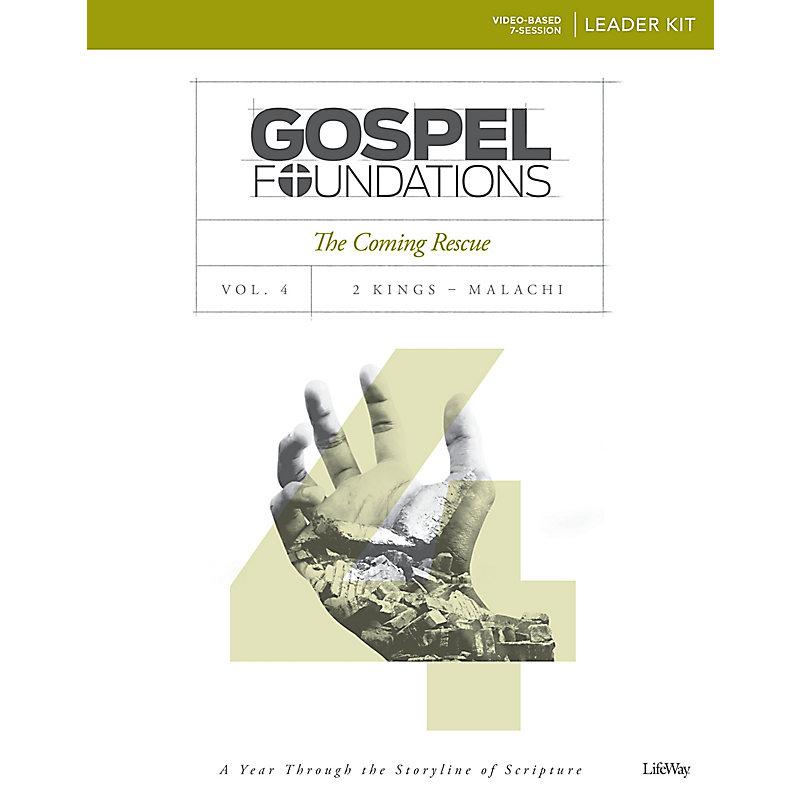 Gospel Foundations - Volume 4 - Leader Kit