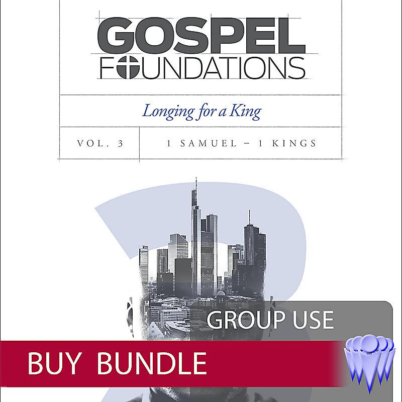 Gospel Foundations - Volume 3 - Group Use Video Bundle - Buy