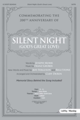 Worshp music church music lifeway silent night gods great love anthem fandeluxe Images