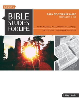 Bible Studies for Life | Adults - Spring | LifeWay