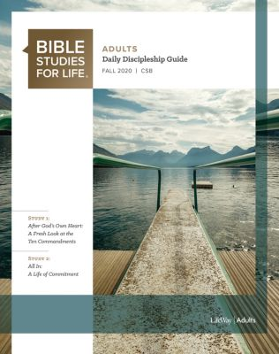 Bible Studies for Life Adults Study Guide