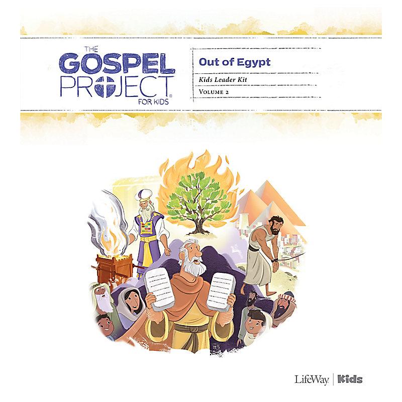 The Gospel Project for Kids: Kids Leader Kit - Volume 2: Out of Egypt