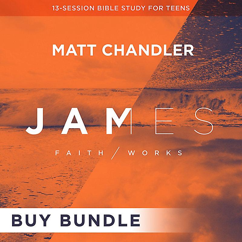 James: Faith/Works Teen Bible Study Digital Leader Kit