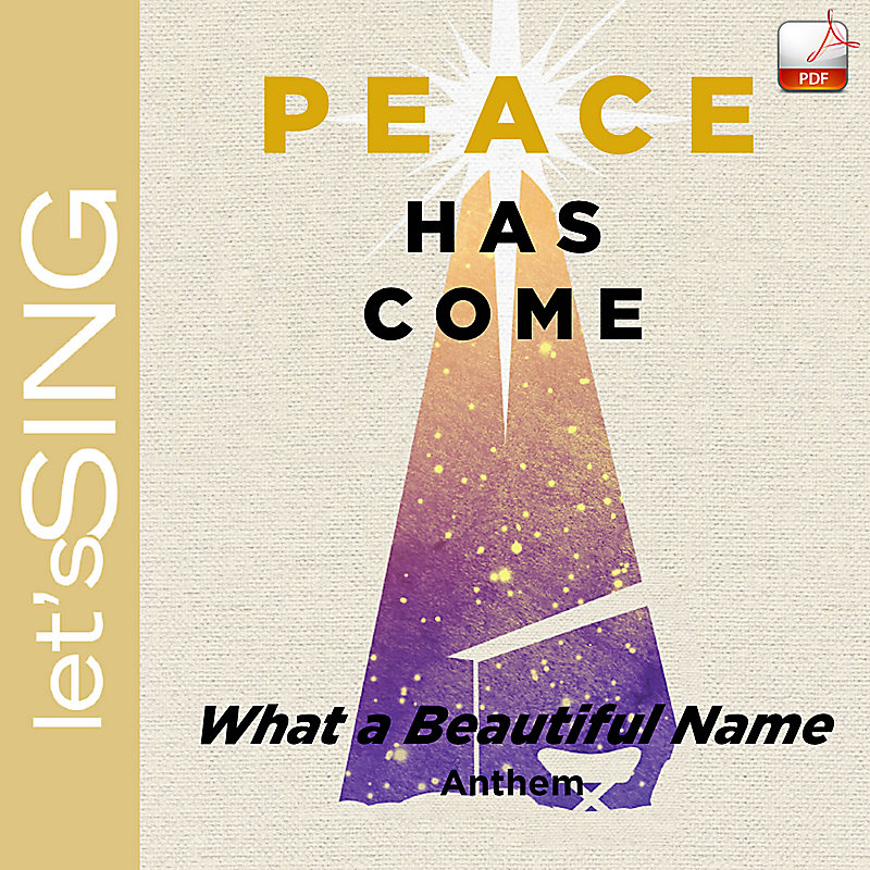 What A Beautiful Name Downloadable Anthem Min 10 Lifeway