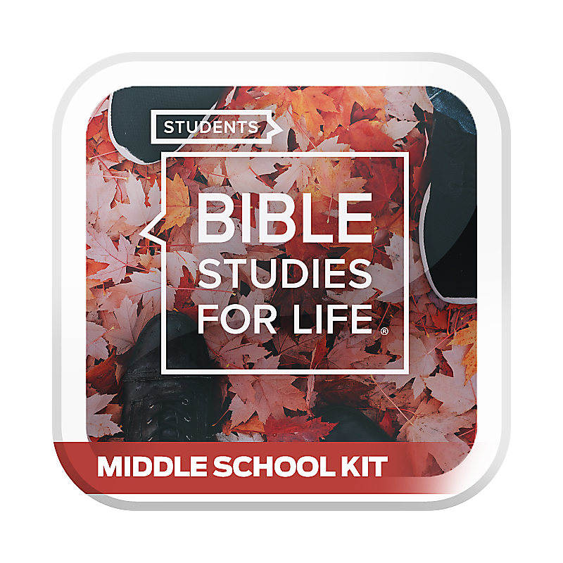 Bible Studies for Life: Student Middle School Option Kit Fall 2019