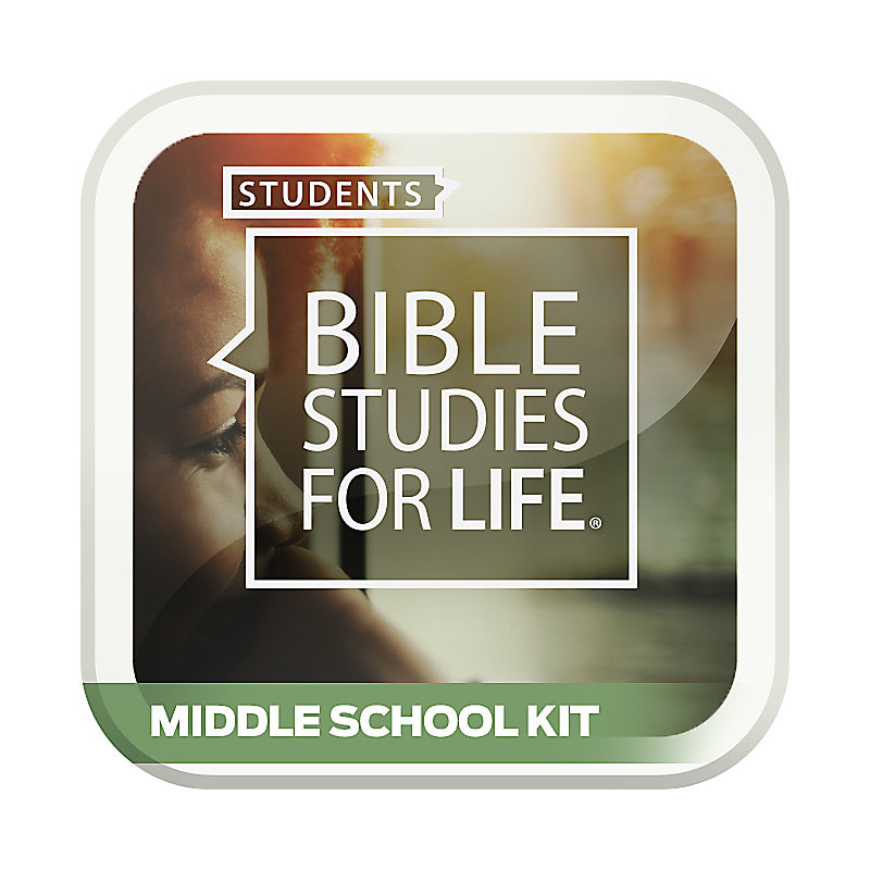 Bible Studies for Life: Student Middle School Option Kit Spring 2019
