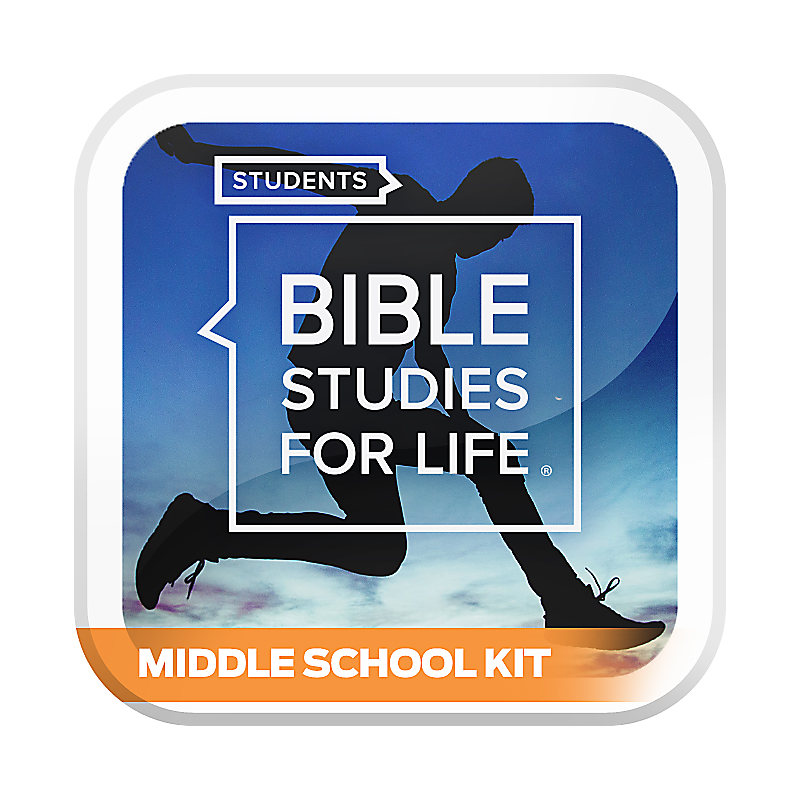Bible Studies for Life: Students - Middle School Kit - Fall 2020