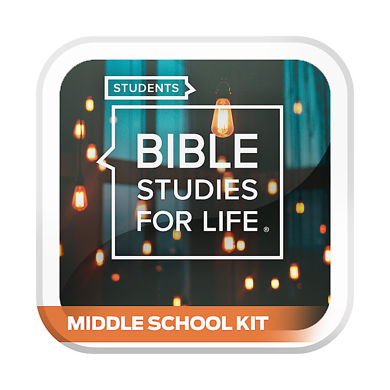 Bible Studies for Life: Student Middle School Option Kit Spring 2020