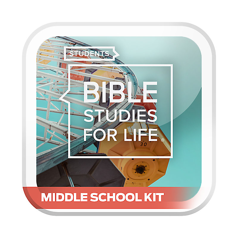Bible Studies for Life: Students Middle School Option Kit Summer 2020