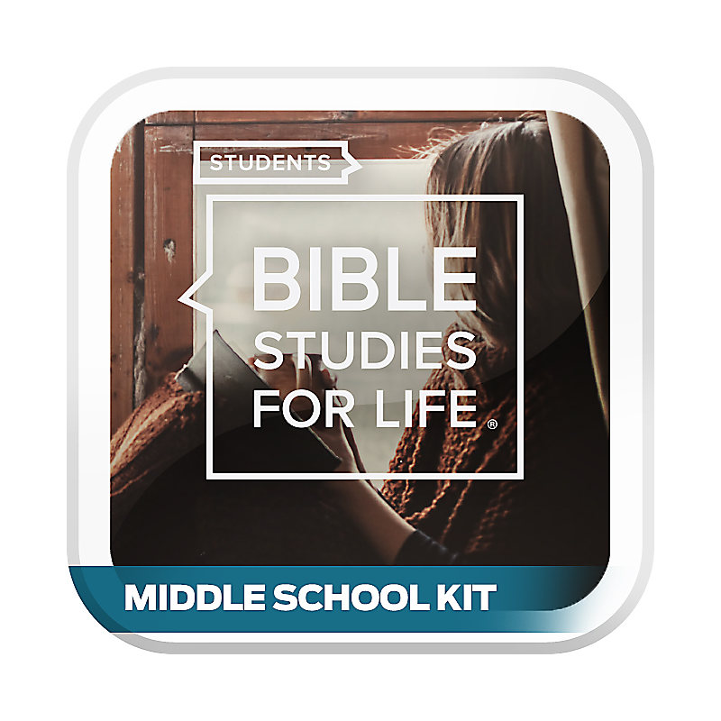 Bible Studies for Life: Students - Middle School Kit - Winter 2020-21