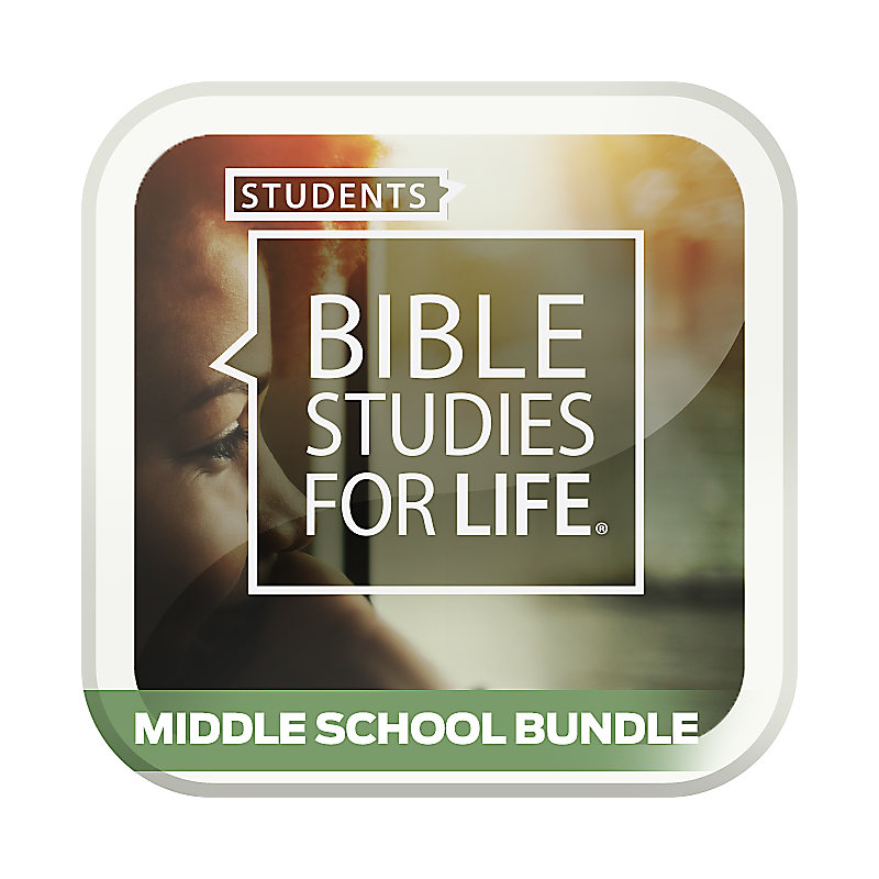 Bible Studies for Life: Student Middle School Option Bundle Spring 2019