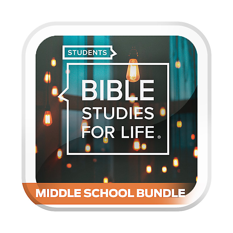 Bible Studies for Life: Student Middle School Option Bundle Spring 2020