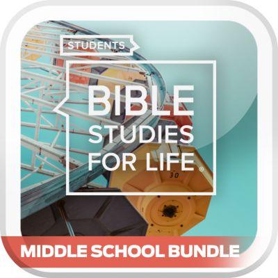 Bible Studies for Life Student Middle School Digital Bundle