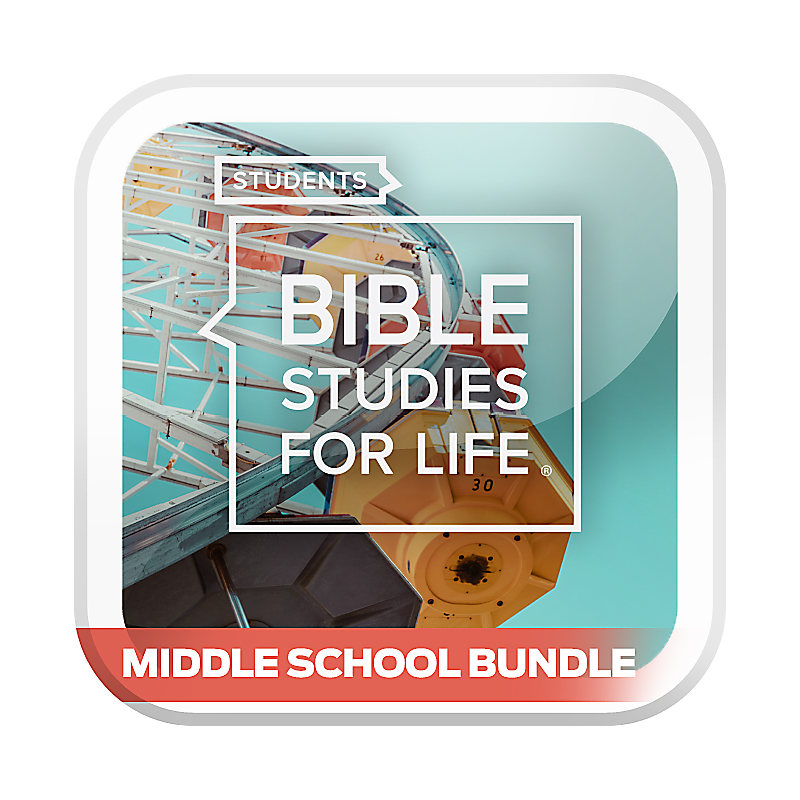 Bible Studies for Life: Students Middle School Option Bundle Summer 2020