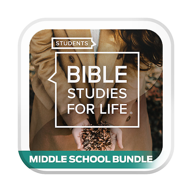 Bible Studies for Life: Student Middle School Option Bundle Winter 2020