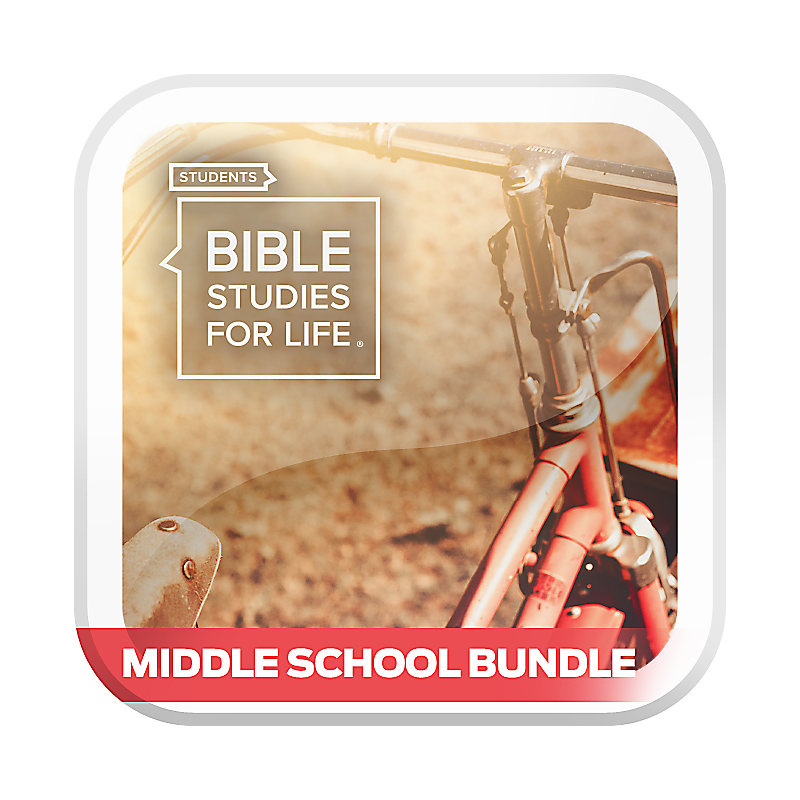 Bible Studies for Life: Students - Middle School Bundle - CSB - Spring 2021