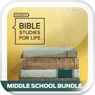 Bible Studies for Life Student Middle School Digital Bundle