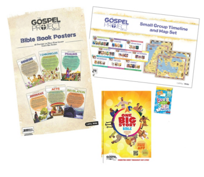 The Gospel Project for Kids Home edition Ultimate Big Picture Learning Pack