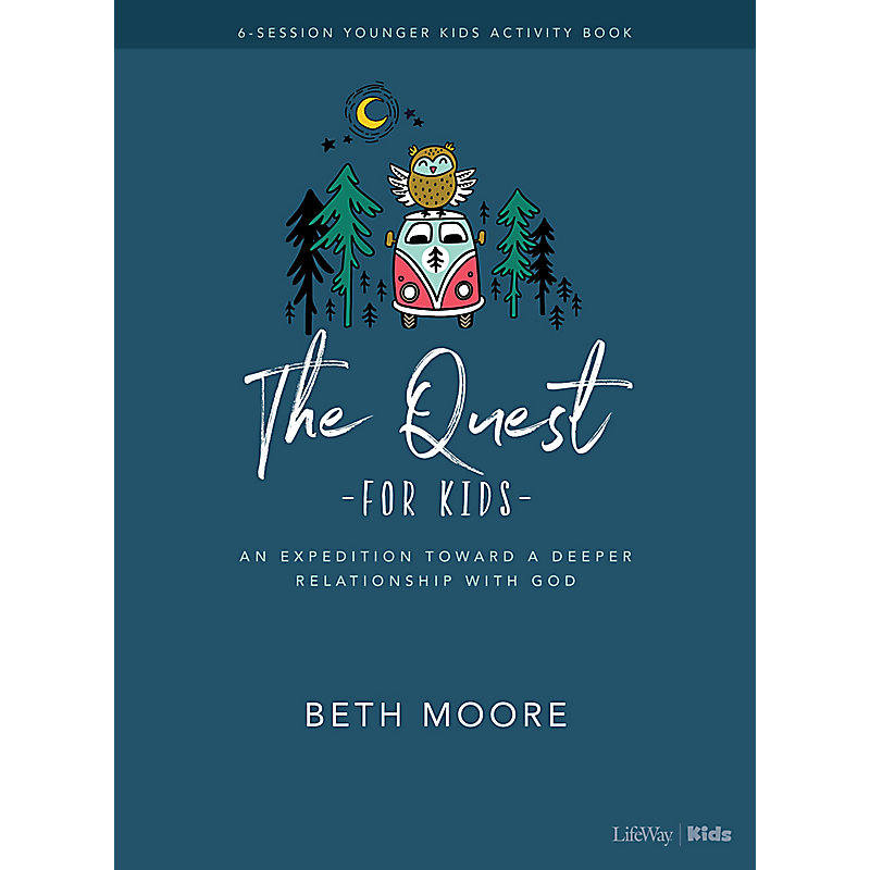 The Quest Younger Kids Activity Book
