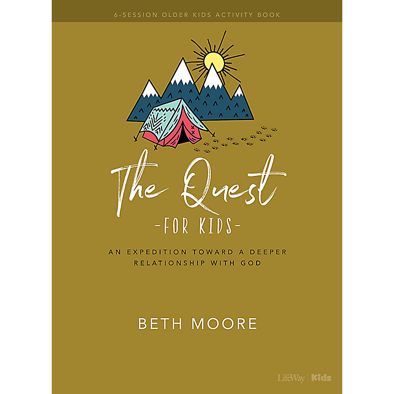 The Quest Older Kids Activity Book