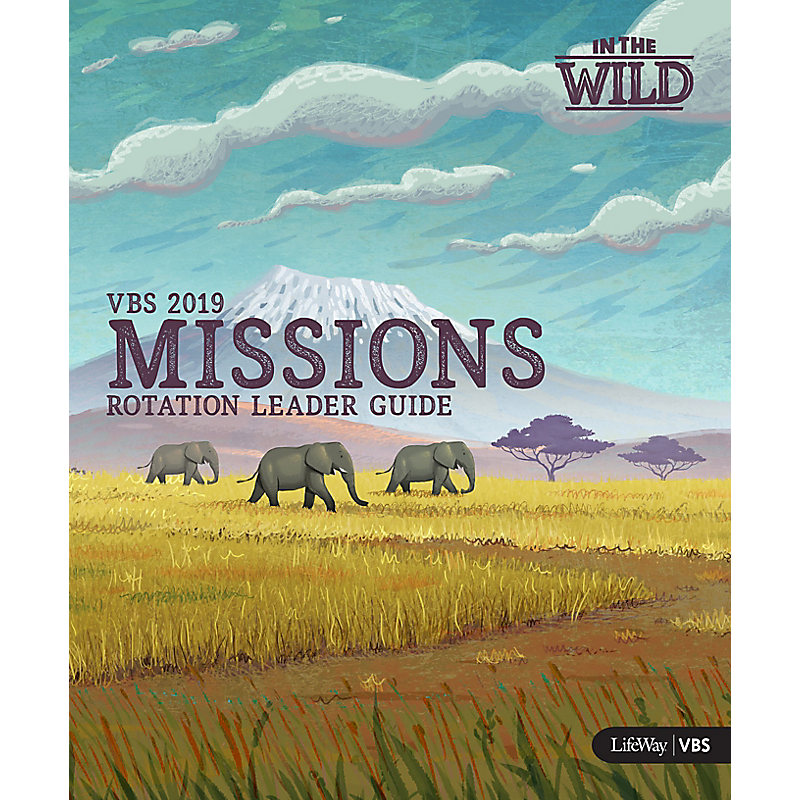 VBS 2019 Missions Rotation Leader Guide With DVD