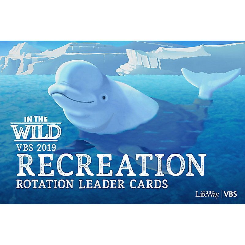 VBS 2019 Recreation Rotation Leader Cards