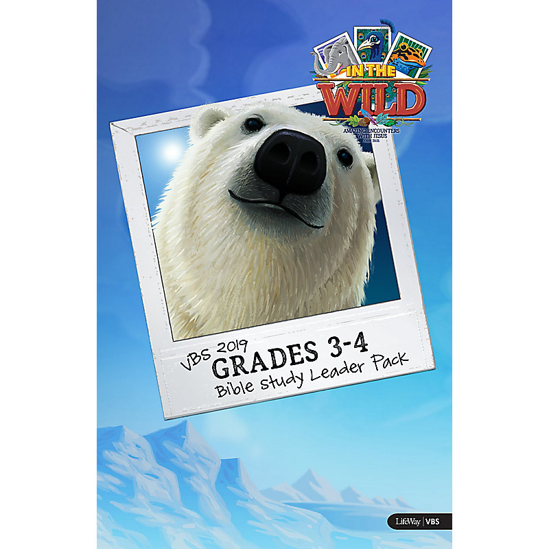 VBS 2019 Grades 3-4 Bible Study Leader Pack
