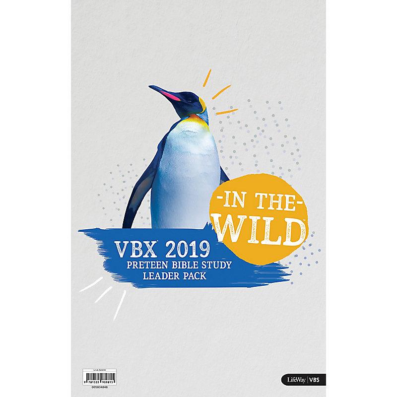 VBS 2019 VBX Preteen Bible Study Leader Pack