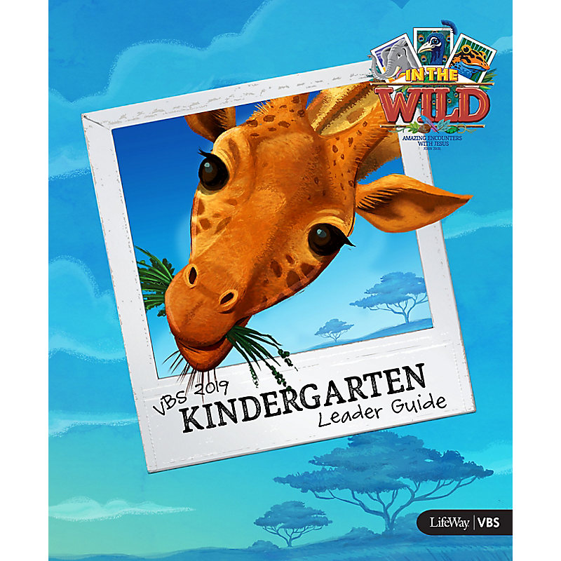 VBS 2019 Kindergarten Leader Guide