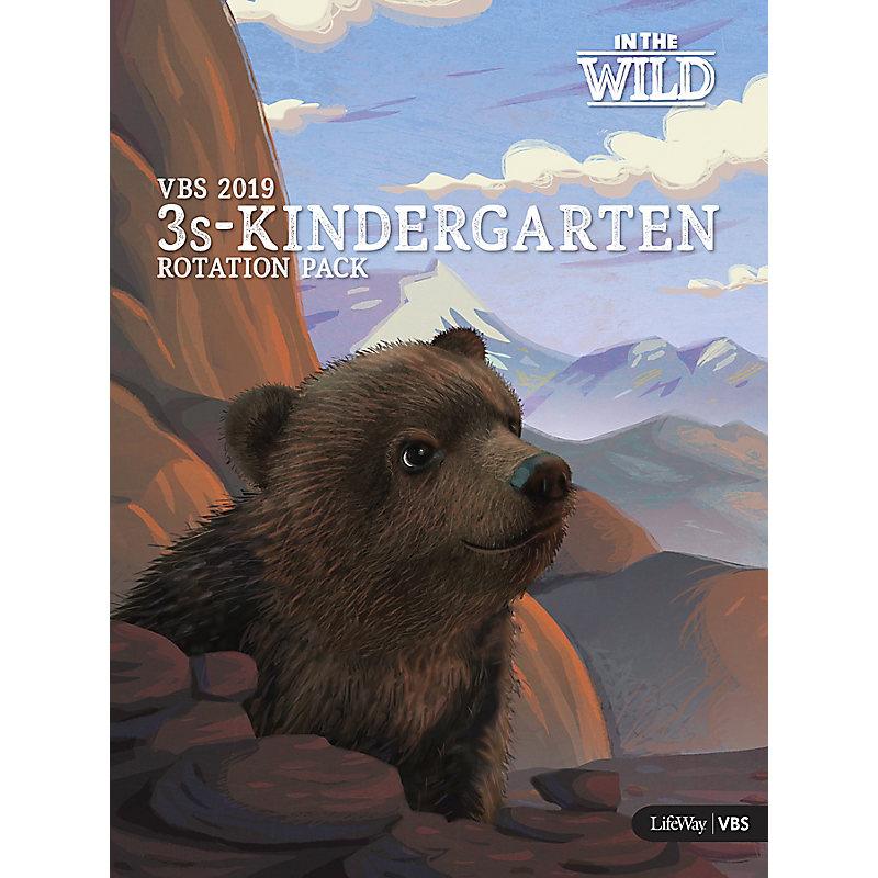 VBS 2019 3s-Kindergarten Rotation Pack