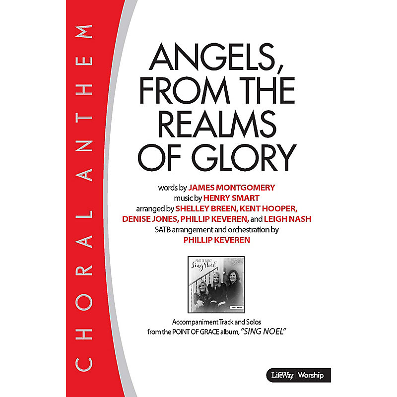Angels From The Realms Of Glory Downloadable Lyric File Lifeway
