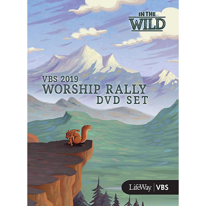 VBS 2019 Worship Rally DVD Set