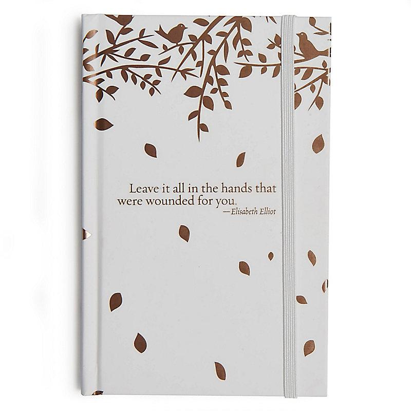 """Leave it all..."" leaves, Prayer Journal"