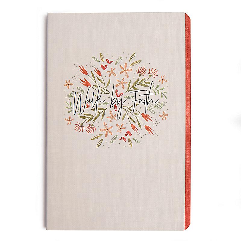 Walk by Faith (Floral), Journal