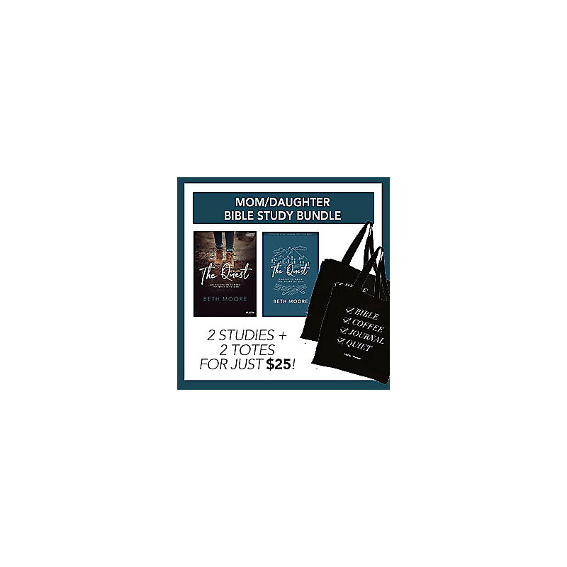 TBN The Quest Study Journals and Totes Bundle - Exclusive Online Offer