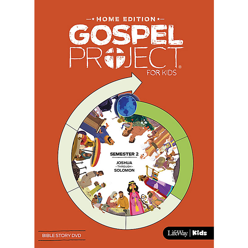 The Gospel Project: Home Edition Bible Story DVD Semester 2