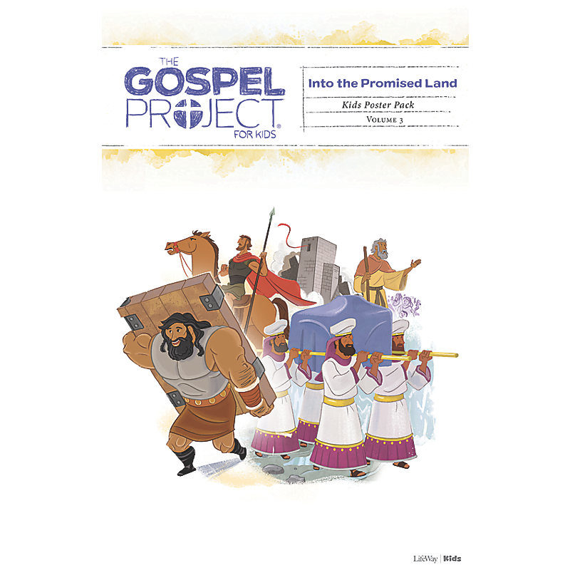 The Gospel Project for Kids: Kids Poster Pack - Volume 3: Into the Promised Land