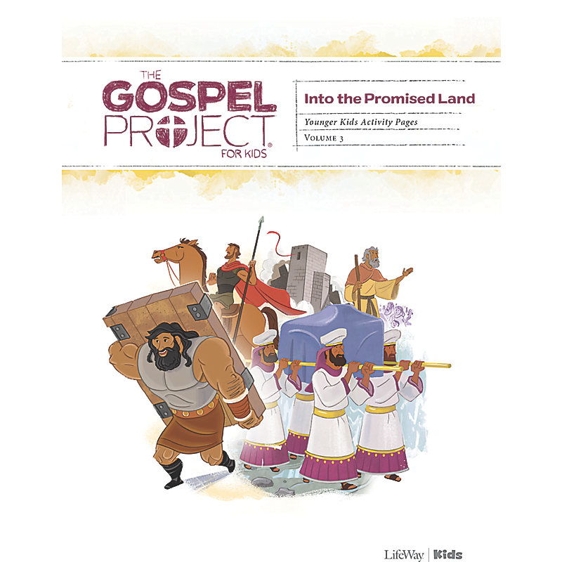 The Gospel Project for Kids: Younger Kids Activity Pages - Volume 3: Into the Promised Land