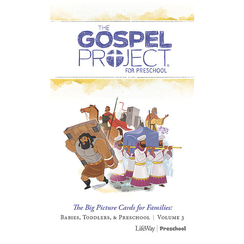 The Gospel Project for Preschool: Preschool Big Picture Cards for Families - Volume 3: Into the Promised Land