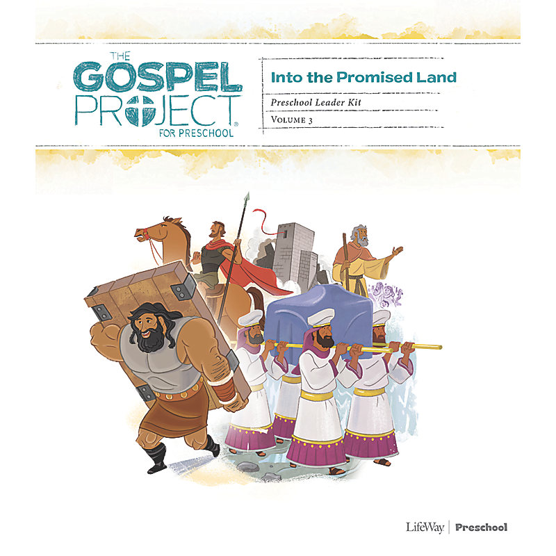 The Gospel Project for Preschool: Preschool Leader Kit - Volume 3: Into the Promised Land