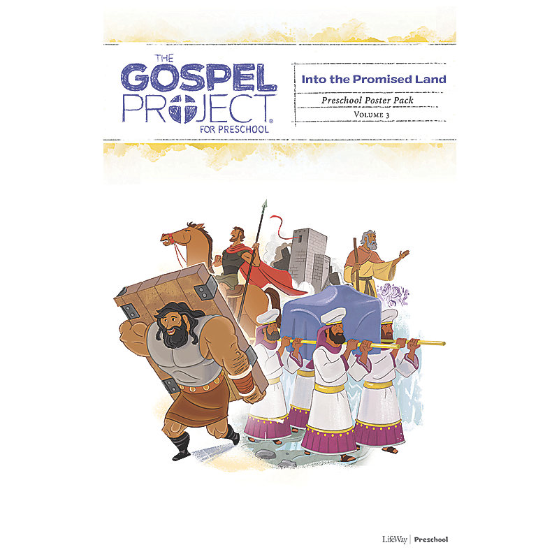 The Gospel Project for Preschool: Preschool Poster Pack - Volume 3: Into the Promised Land