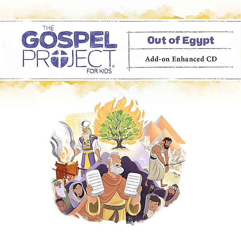 The Gospel Project for Kids: Kids Leader Kit Add-on Enhanced CD - Volume 2: Out of Egypt
